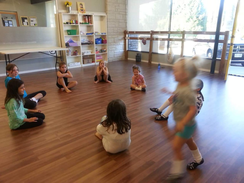 Learning to Irish dance